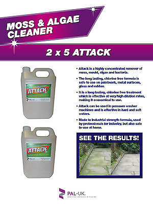 Outdoor Furniture Cleaner - Moss And Algae Cleaner Remover - Deck Chairs, Tables