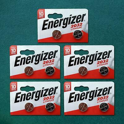 Genuine Energizer 10 X Cr2032 3V Lithium Coin Cell Battery Dl2032, Br2032 Sb-T15