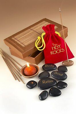 Boxer Gifts Spa Hot Rocks Gift Pack