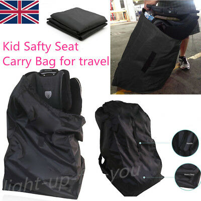 Portable Kid Child Baby Car Safety Seat Travel Carry Bag Dust Cover Protector