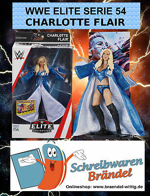 WWE MATTEL Elite 54 CHARLOTTE FLAIR - NEU - Wrestling Action Figur - BASIC - DM