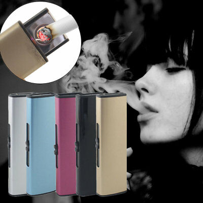USB Charge Lighter USB Windproof Personality Electric Cigarette Lighter LOT QZ