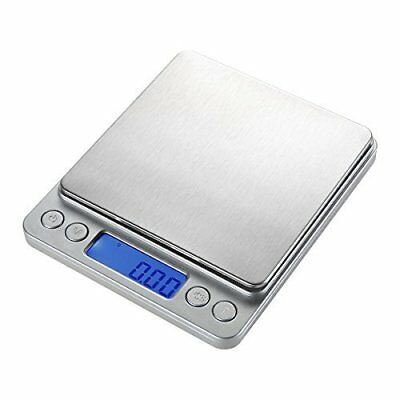 Digital Pocket Stainless Scale Jewelry & Kitchen Food Lab Weight 500g/0.01g Step