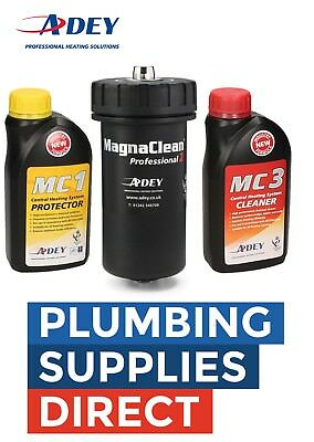 * Adey Magnaclean Professional Pro 2 Magnetic Cleaner 22mm With MC1 & MC3 Chems