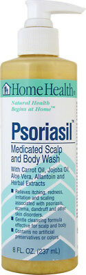 Psoriasis Medicated Scalp and Body Wash, Home Health, 8 oz