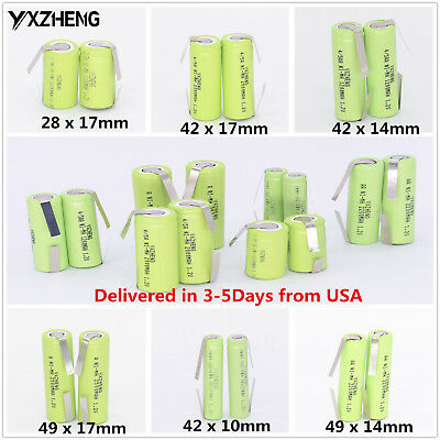 2PCS Toothbrush Replacement Battery for Braun Oral-B Triumph Sonicare Colgate
