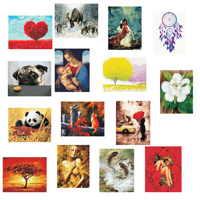 DIY Paint By Numbers Kits Painting Canvas Picture Artwork Home Decoration