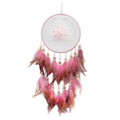 Handmade Dream Catcher with Feathers for Wall Hanging Decoration Ornament