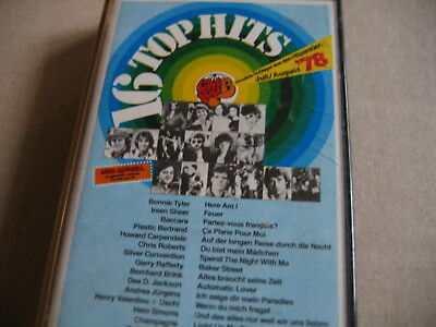 Club 13 - 16 top Hits July/August  1978 (MC)