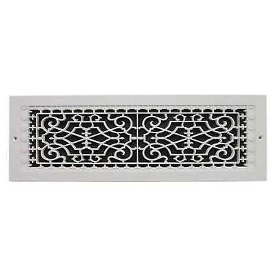 Cold Air Return Vent Ventilation Grille 6 x 22 in White Wall Register HVAC Cover