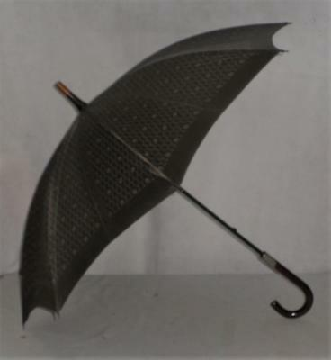 Lovely Vintage Christian Dior Umbrella With Crook Top Handle -83cm Tall