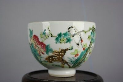 19th C. Chinese Famille-rose Enameled Bowl