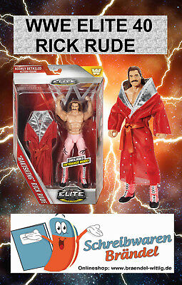 WWE MATTEL Elite Serie 40 RAVISHING RICK RUDE - Wrestling Action Figur - Basic