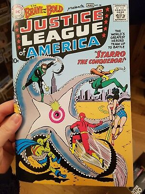 DC Comics Justice League of America The Brave and the Bold No 28 Reprint