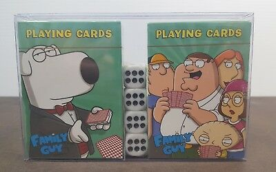 Family Guy Playing Cards Collectibles FOX 2008 2 Sealed Sets Cool Gift