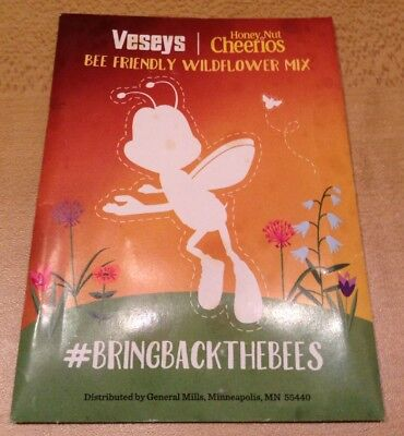 veseys honey nut cheerios bee friendly wildflower mix Packet