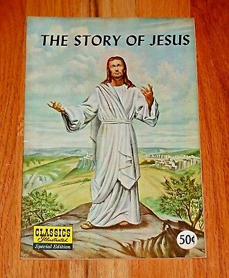 Classics Illustrated Special Edition THE STORY OF JESUS Silver Age Comic VF/NM