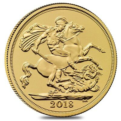 2018 Great Britain Gold British Sovereign BU