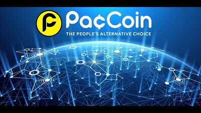 1 Million PACCOIN PAC Cryptocurrency 1,000,000
