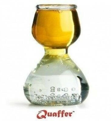 Shot Glasses By Quaffer - 12 Plastic Shooters - Perfect for Parties, Birthdays