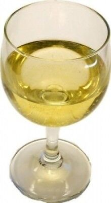 MEDIUM WHITE WINE GLASS Fake Drink. Flora-cal Products. Delivery is Free