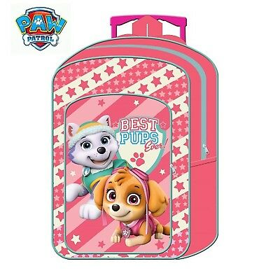 (Paw Patrol Girls) - New Children's Character Deluxe Wheeled Trolley