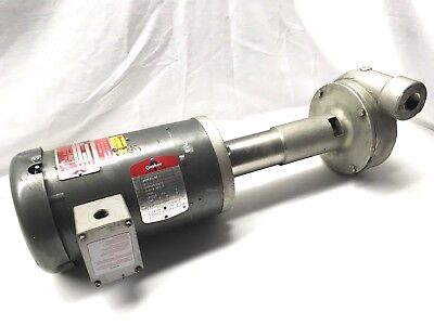 NEW! GUSHER 11018NS-SE-B 1HP Vertical COOLANT WATER PUMP 208V-230V 460V 3 Phase