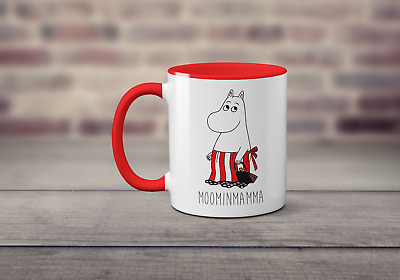 Moominmamma Funny TV Book Moomins Mother's Day Retro Gift Inspired Printed Mug