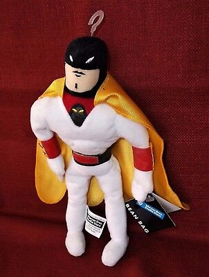"HANNA BARBERA SPACE GHOST 9"" PLUSH BEAN BAG Warner Brothers Studio Store"