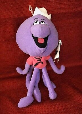"HANNA BARBERA SQUIDDLY DIDDLY 9"" PLUSH BEAN BAG Warner Brothers Studio Store"