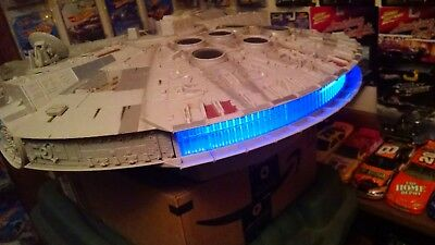 Star Wars 2008 legacy millennium falcon HUGE Hasbro 2.5 ft & Action Figures toys