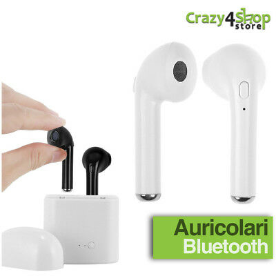 Auricolari Bluetooth Wireless Auricolare Microfono Per Samsung Huawei Apple Asus