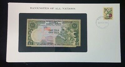 1980 Western Samoa 1 Tala  Banknotes Of All Nations