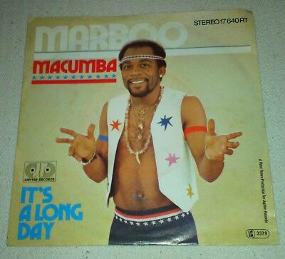 Marboo - Macumba + It's a Long Day   Vinyl 7""