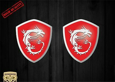 Pegatina Decal Sticker Autocollant Aufkleber Msi Gaming Series Logo Pc Master