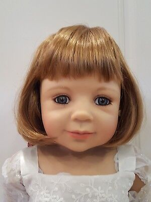 """NWT Monique Charlene Carrot Doll Wig 17-18/"""" fits Masterpiece Doll WIG ONLY"""