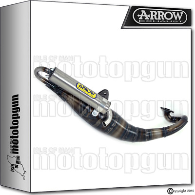 Arrow Full Exhaust System Extreme Titanium Hom Mbk Booster Special 50 2002 02