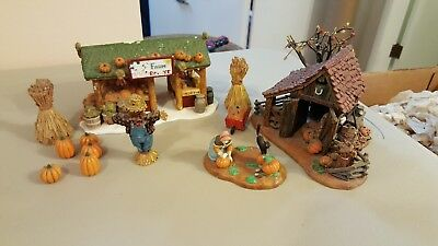 "Dept 56 Farm Produce Bldg and ""It's Almost Thanksgiving"" Fruit Stand - Misc."