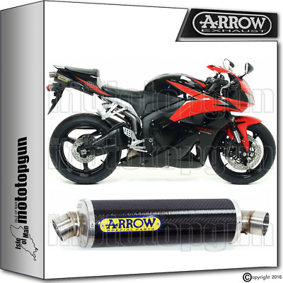 Arrow Muffler Indy-Race Carbon Hom Honda Cbr 600-Rr 2009 09 2010 10 2011 11