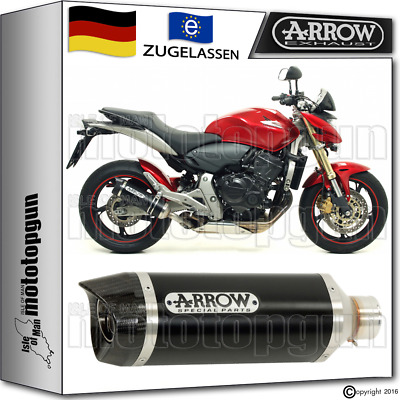 Arrow Auspuff Thunder Dark Carbonkappe Honda Cb 600 F Hornet 2007 07 2008 08