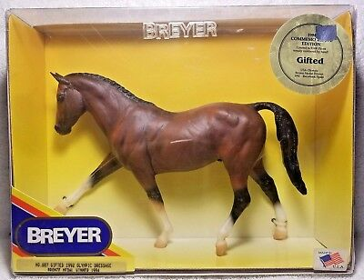 Breyer Horse # 887 Gifted 1992 Olympic Dressage Bronze Medal Winner Limit 9000