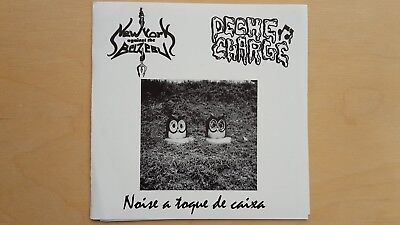 DECHE CHARGE - NEW YORK AGAINST THE BELZEBU Spl EP lim 50 grind noise anal cunt