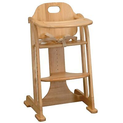 East Coast Nursery Baby / Child Multi-Height Wooden Highchair - Natural