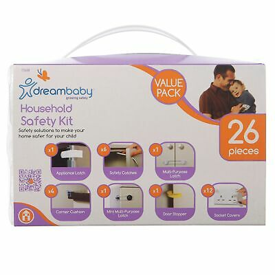 Dreambaby Baby / Child Household / Home Safety Kit Value Pack - 26 Pieces