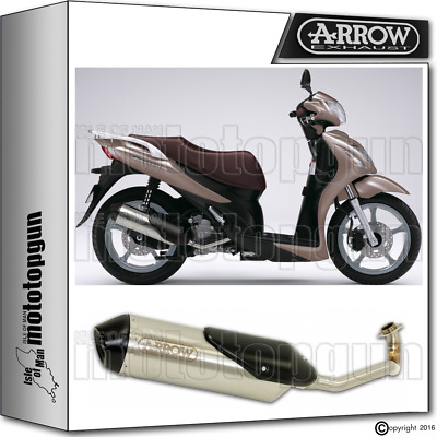 Arrow Full Exhaust System Reflex-2 Chrom Kat Suzuki Sixteen 150 2013 13 2014 14
