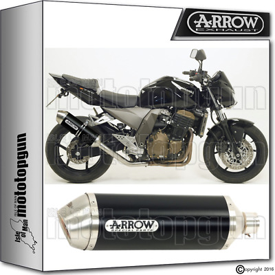 Arrow Muffler Race-Tech Aluminium Dark Hom Kawasaki Z750 2004 04 2005 05 2006 06