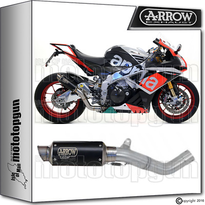 Arrow Kit Muffler Gp2 Stainless Steel Dark Hom Aprilia Rsv4 Rf 2015 15 2016 16