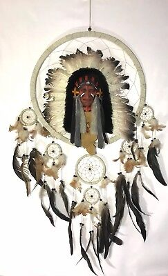 Vintage Native American Dream Catcher Handmade