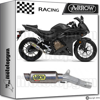 Arrow Kit Muffler Gp2 Titanium Race Honda Cbr 500-R 2016 16