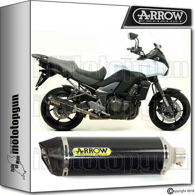 Arrow Exhaust Racetech Carbon Carby Cup Hom Kawasaki Versys 1000 2014 14